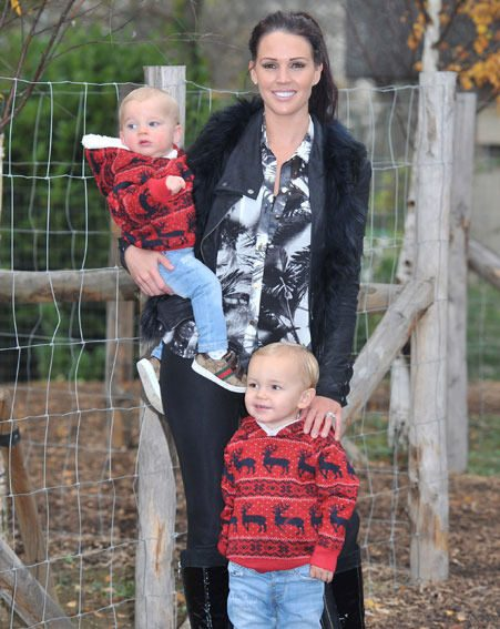 Danielle Lloyd already has two sons - two-year-old Archie and 19-month-old Harry