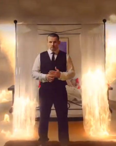Toadie and Sonya's wedding will go up in flames in the Explosive Episode that airs in April