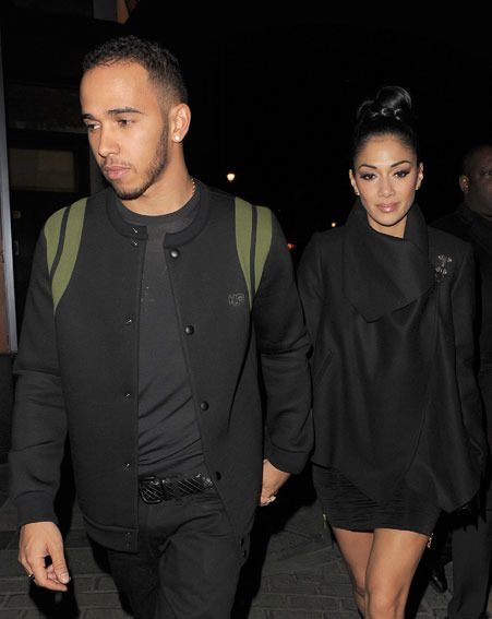 Nicole Scherzinger and Lewis Hamilton are said to have met up on Monday night