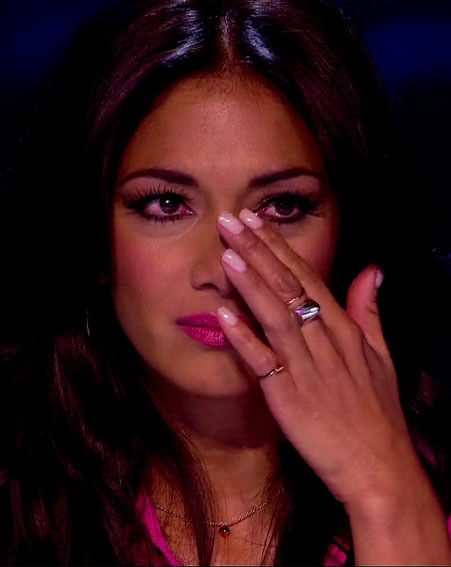 Nicole Scherzinger has been emotional on X Factor this year