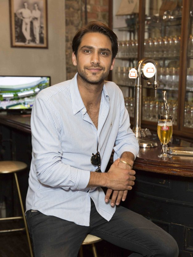 Luke Pasqualino was in Our Girl with Michelle Keegan [WENN ]